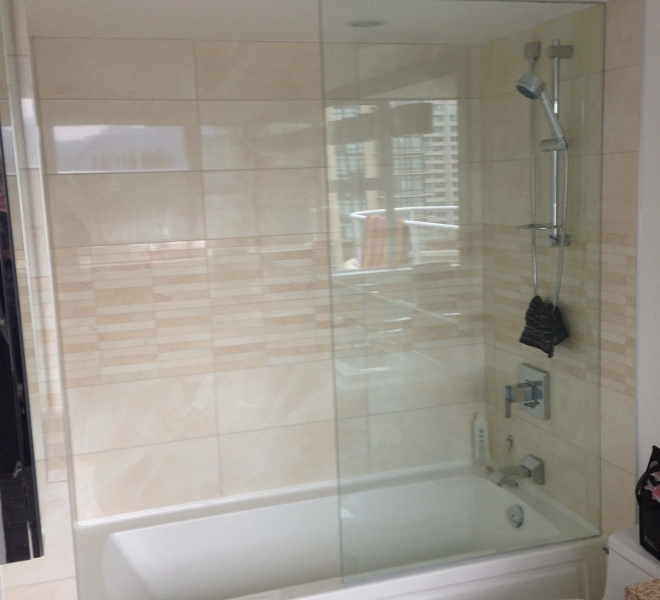 Glass Panel-Tub