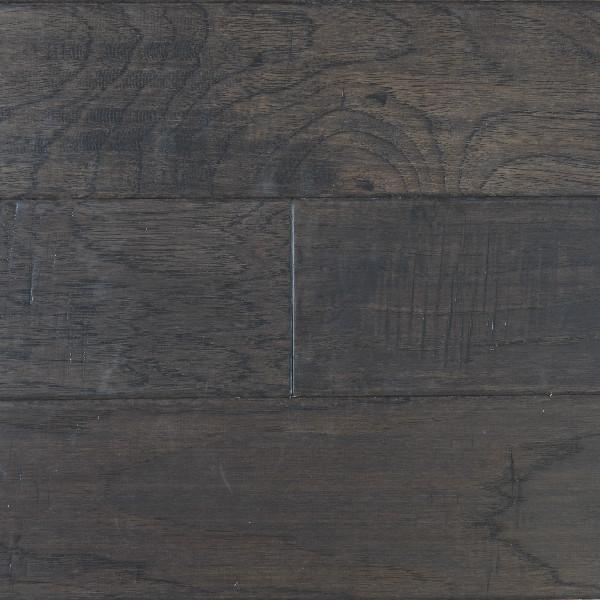 Engineered 4 Handscraped Hickory Grey