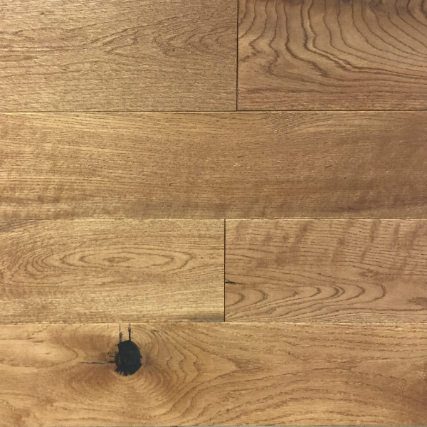 Engineered 5 Brushed Oak Urban Brown