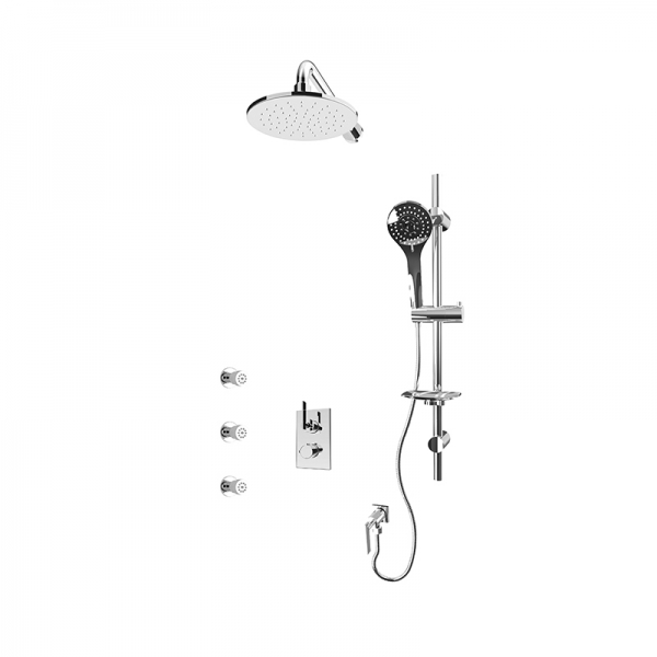 1/2'' thermostatic shower kit cc color