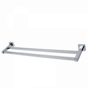 24'' DOUBLE TOWEL BAR CC COLOR