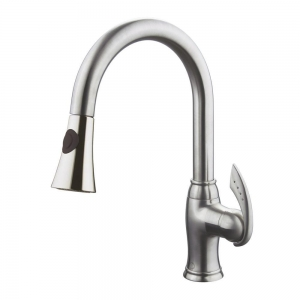 ALTERA BRUSHED NICKEL KITCHEN FAUCET