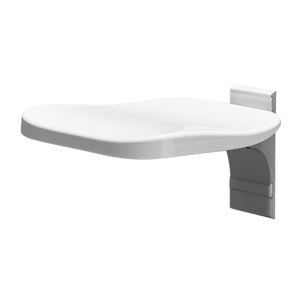 ELLA FIXED SHOWER SEAT METRO WHITE COLOR