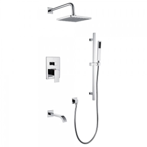ETHAN COMPLETE SHOWER SET CHROME COLOR
