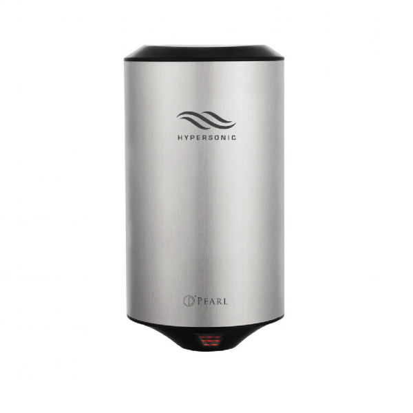 HYPERSONIC MINI AUTOMATIC HAND DRYER STAINLESS STEEL COLOR