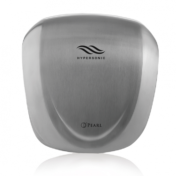 HYPERSONIC ULTRA AUTOMATIC HAND DRYER STAINLESS STEEL COLOR