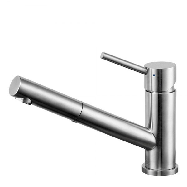 MIA BRUSHED STAINLESS STEEL VANITY EMPIRE FAUCET