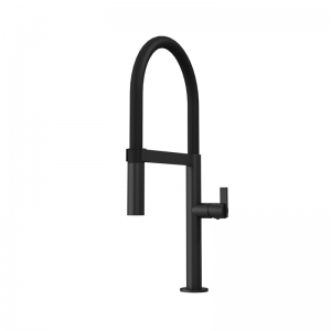 NINA SINGLE HOLE KITCHEN FAUCET BK COLOR