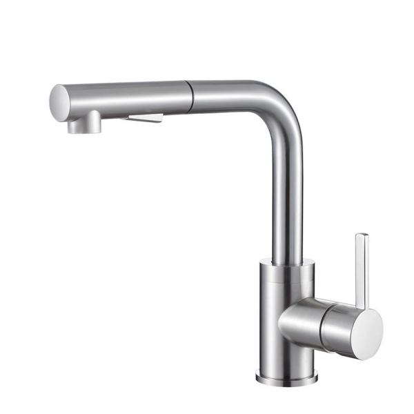 OLIVIA BRUSHED NICKEL KITCHEN FAUCET