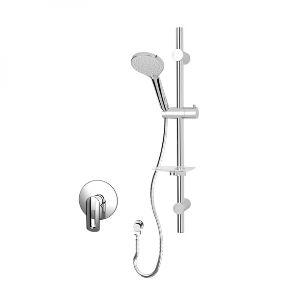 Pressure balanced shower kit cc color