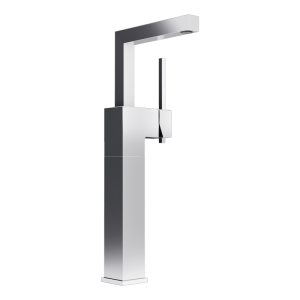 Raised single lever bassin faucet cc color