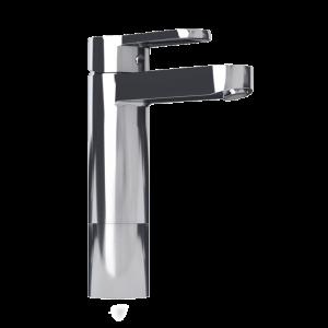 Raised single lever bassin faucet cc color