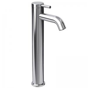 Raised single lever bathroom faucet cc color
