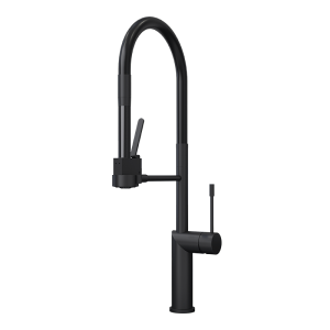 SAKAI SINGLE LEVER PROFESSIONAL STYLE KITCHEN FAUCET BK COLOR