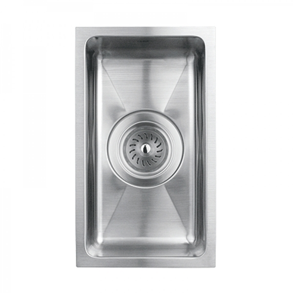 SINGLE BOWL KITCHEN SINK WITH ROUNDED CORNERS