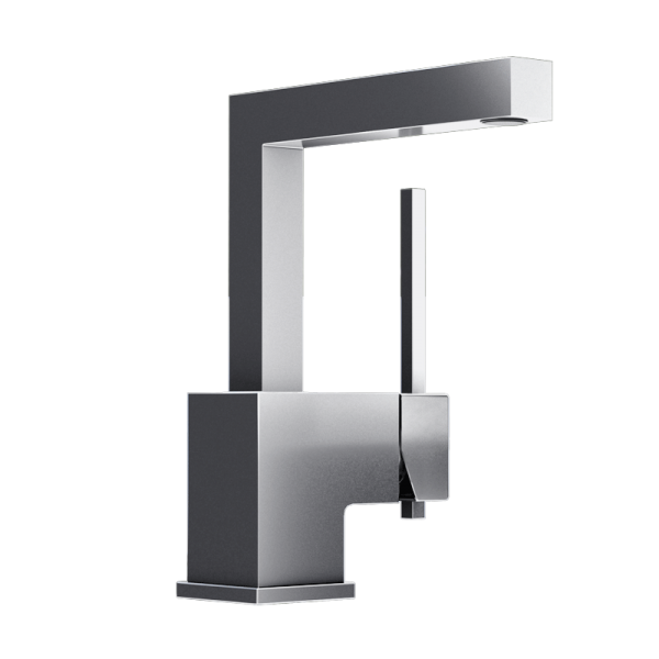 Single lever washbasin faucet cc color