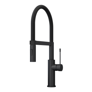 SOBA SINGLE LEVER PROFESSIONAL STYLE KITCHEN FAUCET BK COLOR