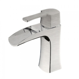 TAKKA BRUSHED NICKEL BATHROOM FAUCET