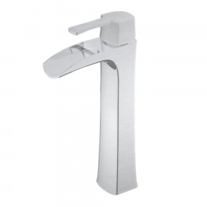 TAKKA H BRUSHED NICKEL BATHROOM FAUCET