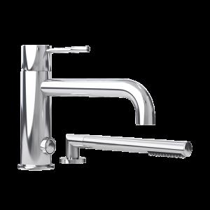 Two-piece bathtub faucet cc color