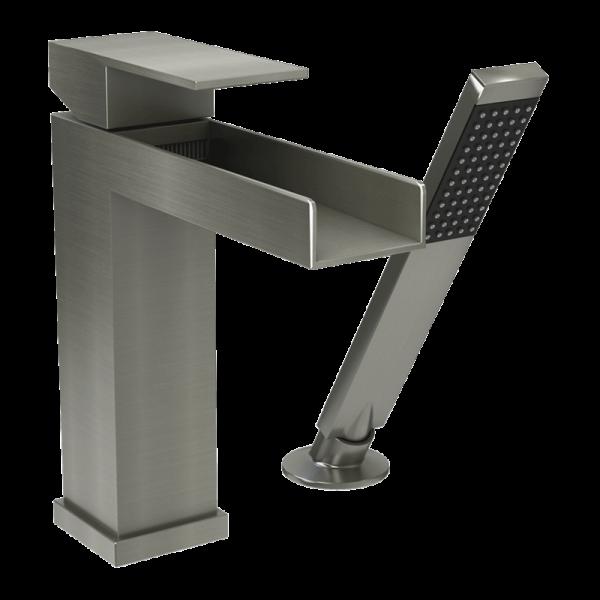 Two piece bathtub faucet nn color