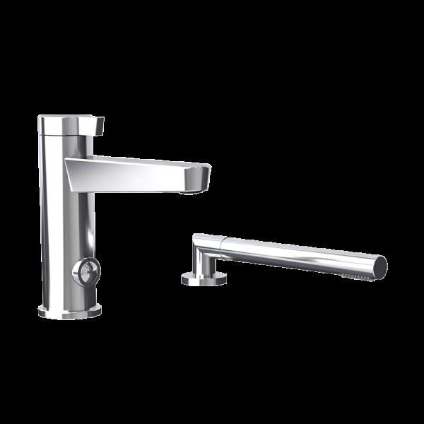 Two pieces bathtub faucet cc color